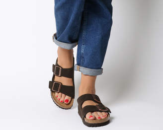 259b31abce9 Birkenstock Leather Straps Sandals For Women - ShopStyle UK