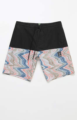 "Volcom Vibes Half Stoney 18"" Swim Trunks"