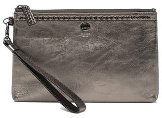 Lodis Leather RFID Wristlet Pouch