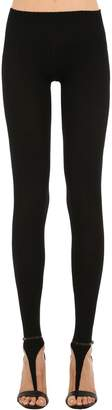 Jacquemus Ribbed Knit Leggings W/ Cutouts