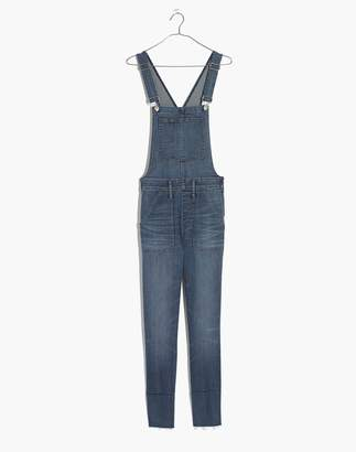 Madewell Skinny Overalls in Kemp Wash
