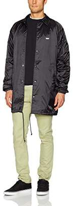 Obey Men's Jumble Lo-fi Coaches Trench Jacket