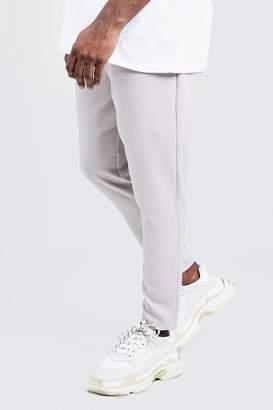 BoohoomanBoohooMAN Mens Big & Tall Plain Smart Jogger Trouser,