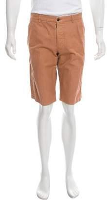 Maison Margiela Woven Flat Front Shorts