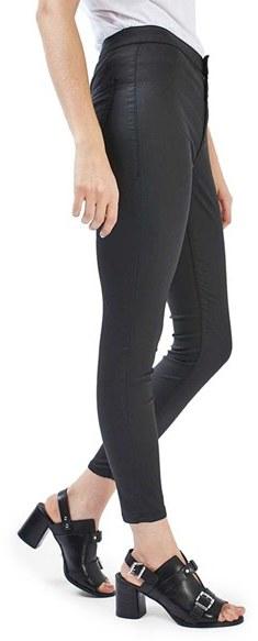 TopshopPetite Women's Topshop Joni Coated Skinny Jeans