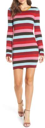 Blank NYC BLANKNYC Stripe Sweater Dress