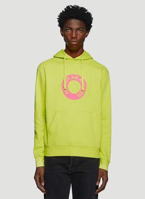 Darkoveli Answer Hooded Sweatshirt in Green