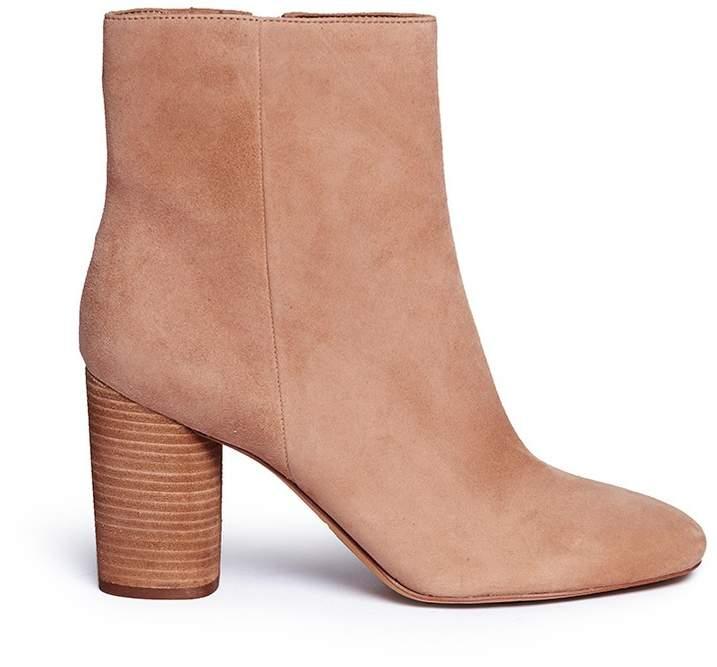 Sam Edelman 'Corra' cylindrical heel suede boots