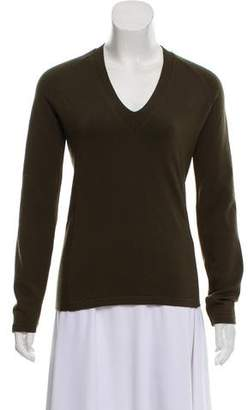 Prada Sport V-Neck Knit Sweater