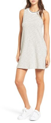 Women's Socialite Stripe Tank Dress $42 thestylecure.com