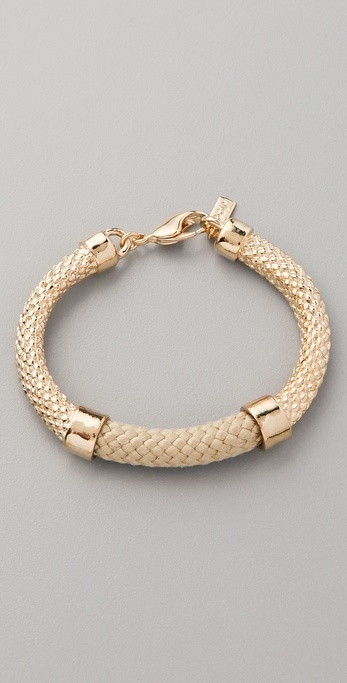 Orly Genger By Jaclyn Mayer Crosby Cast Rope Bracelet