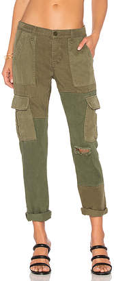 Hudson Jeans Riley Utility Cargo in Olive $275 thestylecure.com
