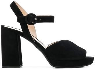 Prada chunky heeled open sandals