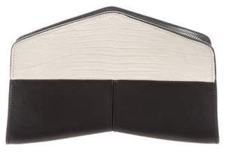Narciso Rodriguez Embossed Leather Clutch