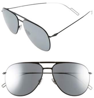 Christian Dior 59mm Aviator Sunglasses