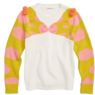 J.Crew crewcuts by Giraffe Sweater