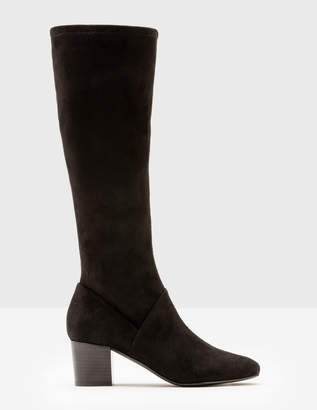 Boden Round Toe Stretch Boots