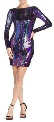Dress the Population Lola Sequin Mini Dress