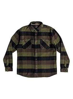 Quiksilver Waterman Men's Colder Winds Flannel Shirt