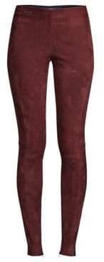 Polo Ralph Lauren Leland Suede Skinny Pants