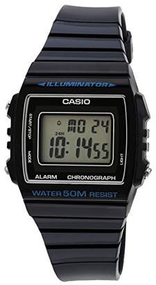 Casio W-215H - 2A-Unisex Sports Watch Digital Quartz LCD Display with Blue Resin Strap
