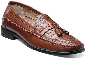 Nunn Bush Strafford Woven Mens Slip-on Tassel Loafer