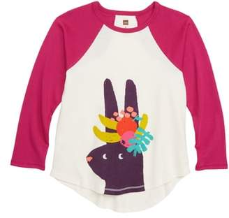 Tea Collection Fruit Rabbit Graphic Tee