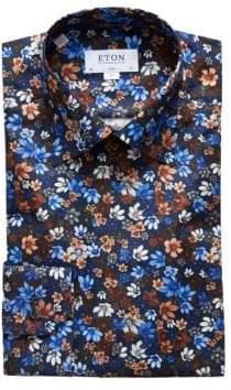 Eton Slim-Fit Floral Shirt