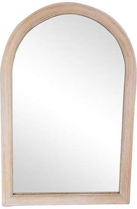 One Kings Lane Vintage Whitewash Mirror - The Gilded Room