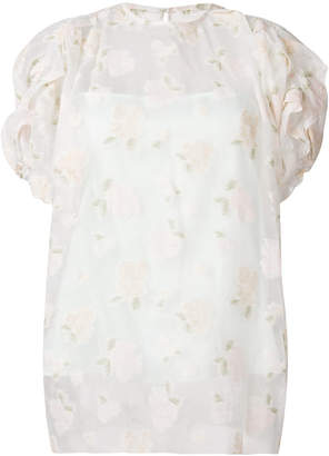 08sircus floral embroidered sheer top