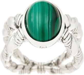Jai JAI Sterling Silver & Gemstone Criss-Cross Ring