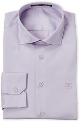 Roberto Cavalli Lilac Comfort Fit Dress Shirt