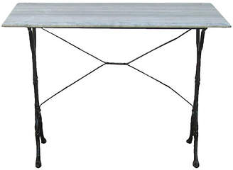 One Kings Lane Vintage French Marble Bistro Table - Chez Vous