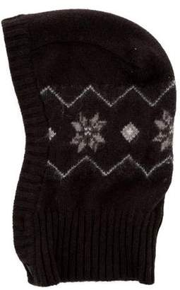 Marie Chantal Boys' Patterned Knit Hood