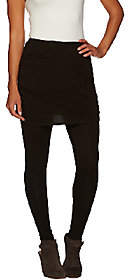 Legacy Ruched Cotton Ankle Length SkirtedLeggings