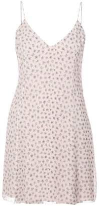 Amiri wildflower print slip dress