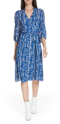BA&SH Folia Wrap Dress
