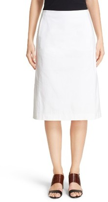 Women's Lafayette 148 New York Coralyn Catalina Stretch Cotton Skirt $298 thestylecure.com