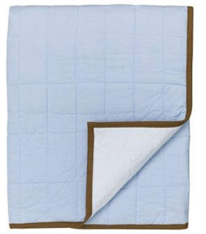 Bacati Metro Quilted Toddler Throw Play Mat
