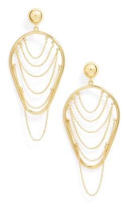 BaubleBar Serena Hoop Earrings