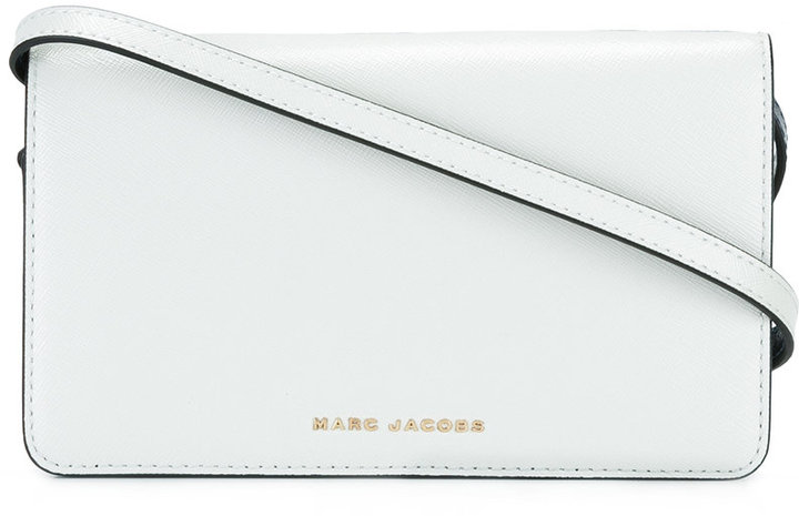 Marc Jacobs Marc Jacobs Saffiano Bicolour crossbody bag