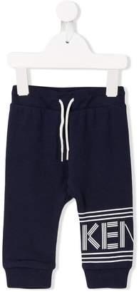 Kenzo logo stripe track pants