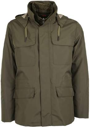 Kired Drawstring Hooded Coat