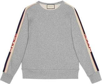 Gucci Cotton sweatshirt with stripe