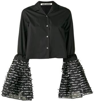 ANAÏS JOURDEN flared sleeve shirt