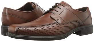 Ecco Johannesburg Perforated Tie Men's Lace-up Bicycle Toe Shoes