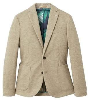 Mango man MANGO MAN Slim-fit unstructured textured blazer