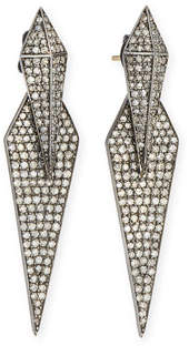 Siena Lasker Double Diamond Dagger Earrings