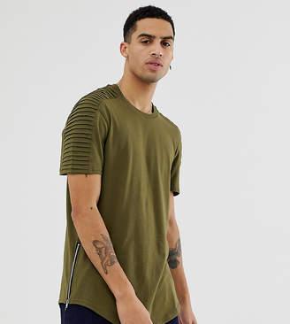Brooklyn Cloth side zip t-shirt
