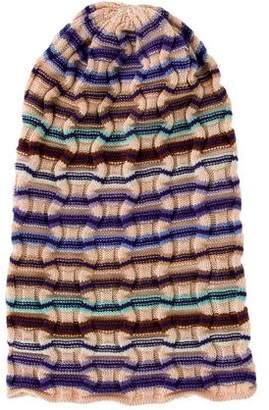 Missoni Rib Knit Patterned Beanie